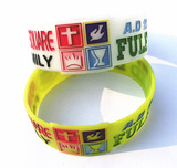 Churches silicone wristbands