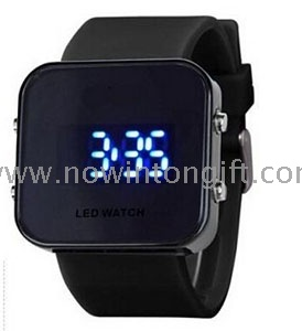 Led jelly watch