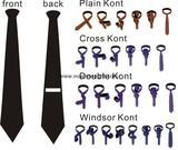Modern Black Tie with Bright Red Stripes necktie