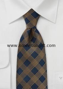 Regal Ties in Navy Blue and Copper
