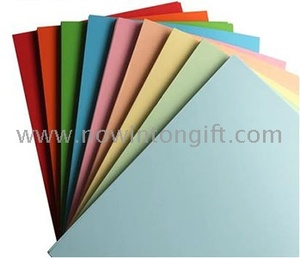 rainbow color copy paper