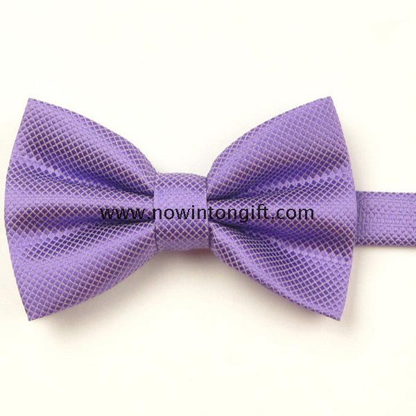 woven polyester bowtie