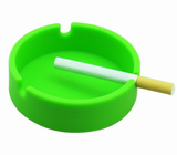 silicone circle ashtray